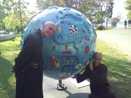 Cool Globes in Boston - hot ideas for a cooler planet