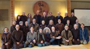 Dharma Teachers of the Order of Interbeing at Deer Park Monastery in 2013
